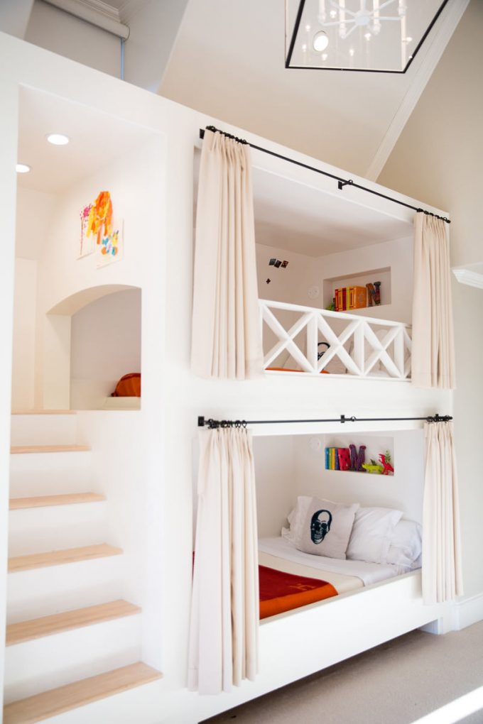 Fabulous Curtain Bunk Beds these are the BEST Bunk Bed Ideas