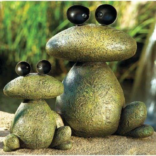 Painted Frog Rocks....these are the BEST Rock Painting Ideas!