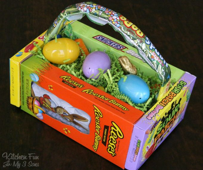 Diy Candy Easter Basket Kitchen Fun With My 3 Sons