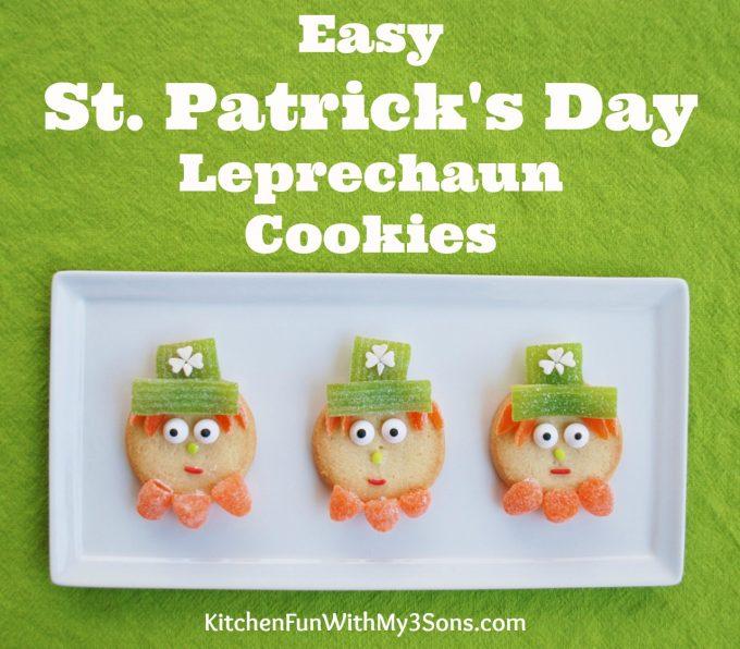 Easy Leprechaun Cookies