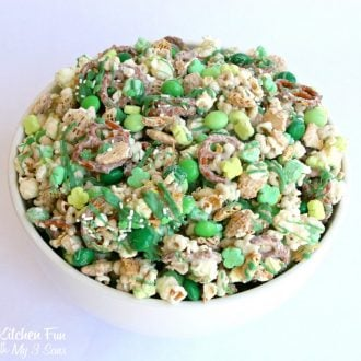 Leprechaun Bait - St. Patrick's Day Chex Party Mix