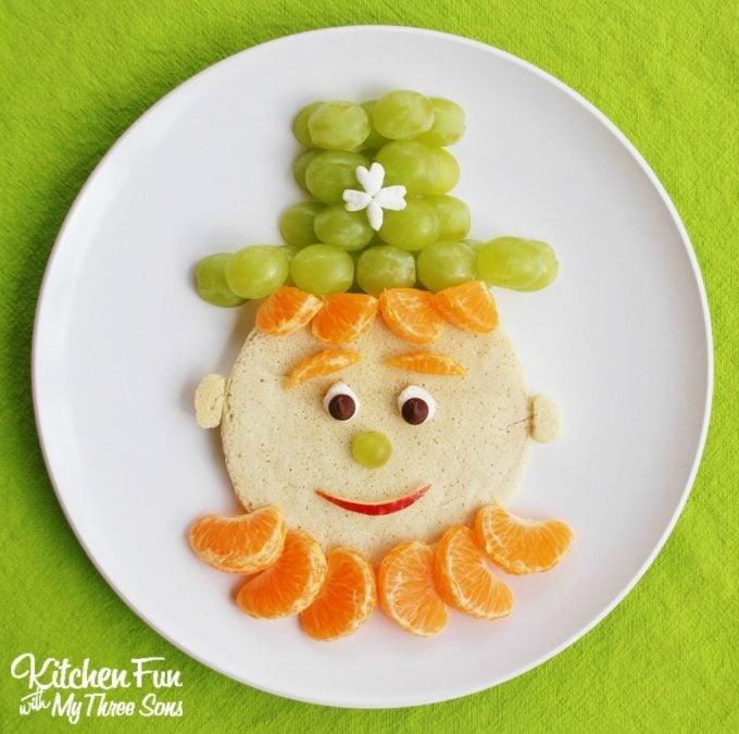 Leprechaun Pancakes for Breakfast