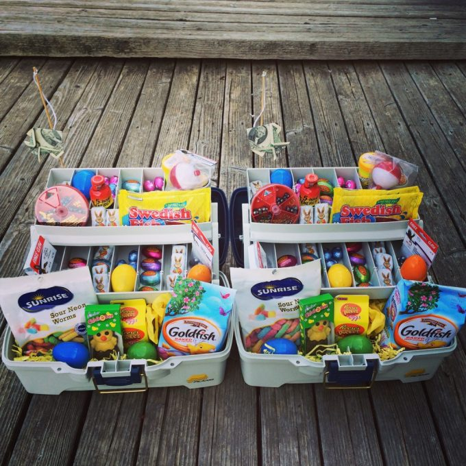 Tackle Box Basket...these are the BEST Easter Basket Ideas!