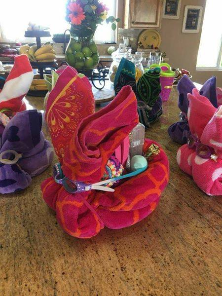 Beach Towel Bunnies...these are the BEST Easter Basket Ideas!