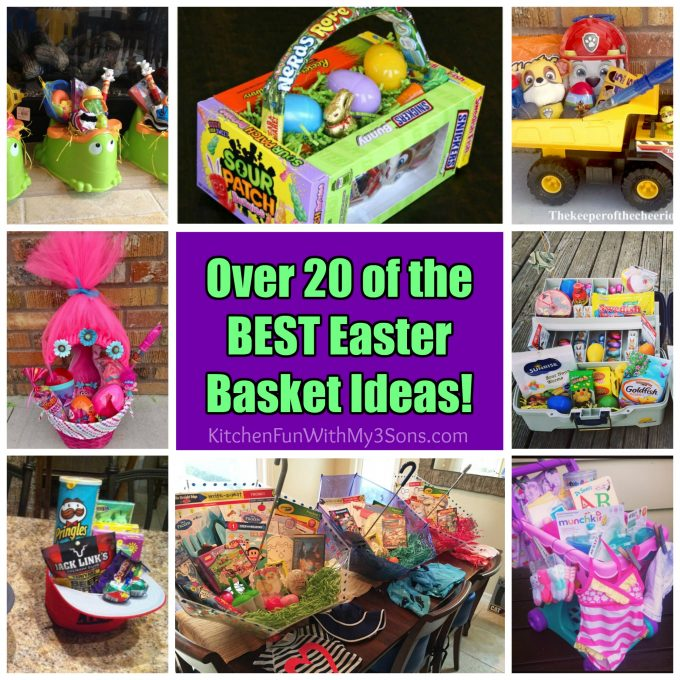 20 of the best easter basket ideas kitchen fun with my 3 sons over 20 of the best easter egg basket ideas negle Choice Image