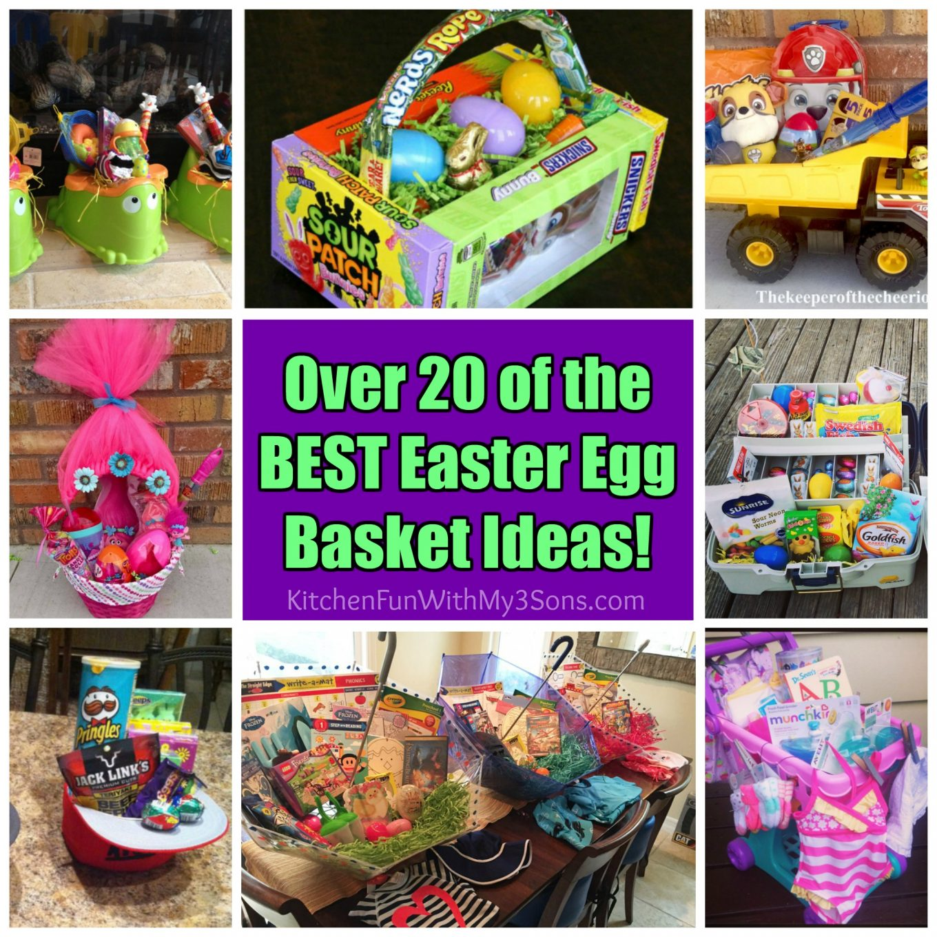 20+ of the BEST Easter Basket Ideas! - Kitchen Fun With My ...