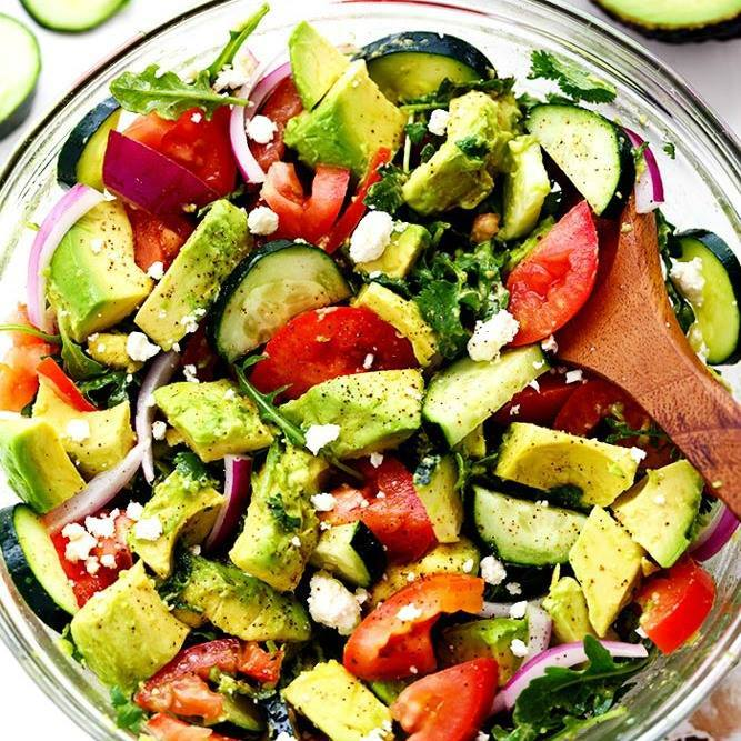 Avocado Tomato Arugula Salad...these are the BEST Salad Recipes!