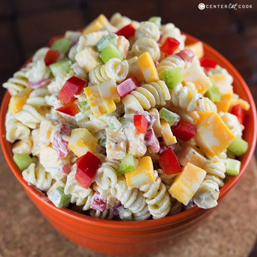 Creamy Cheddar Pasta Salad....these are the BEST Salad Recipes!