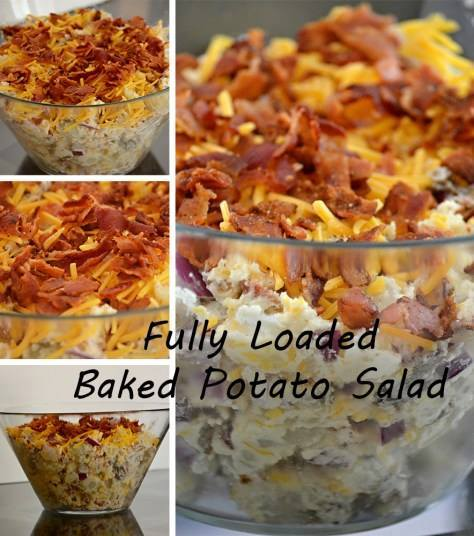 Fully Loaded Baked Potato Salad...these are the BEST Salad Recipes!