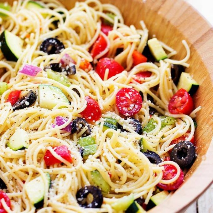 California Spaghetti Salad...these are the BEST Salad Recipes!