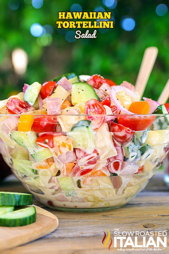 Hawaiian Tortellini Salad...these are the BEST Salad Recipes!