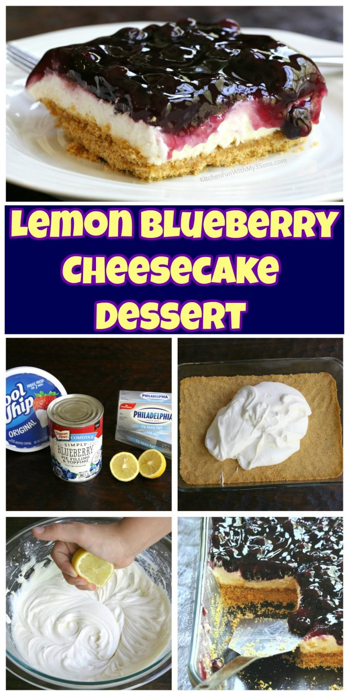 Easy lemon blueberry cheesecake recipes
