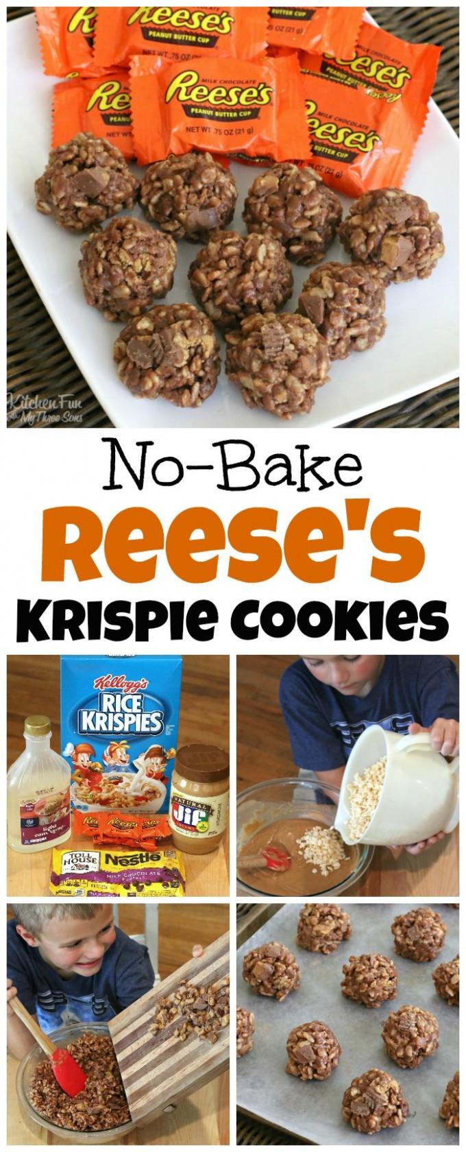 Easy Reese's Cookies