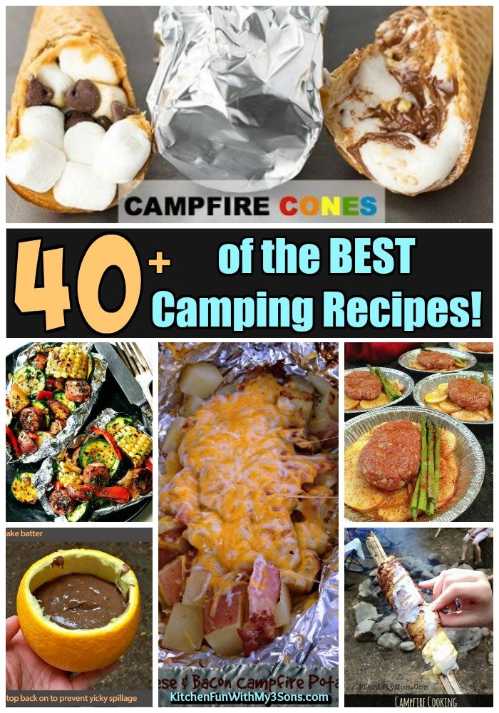 Camping Food Lunch Ideas