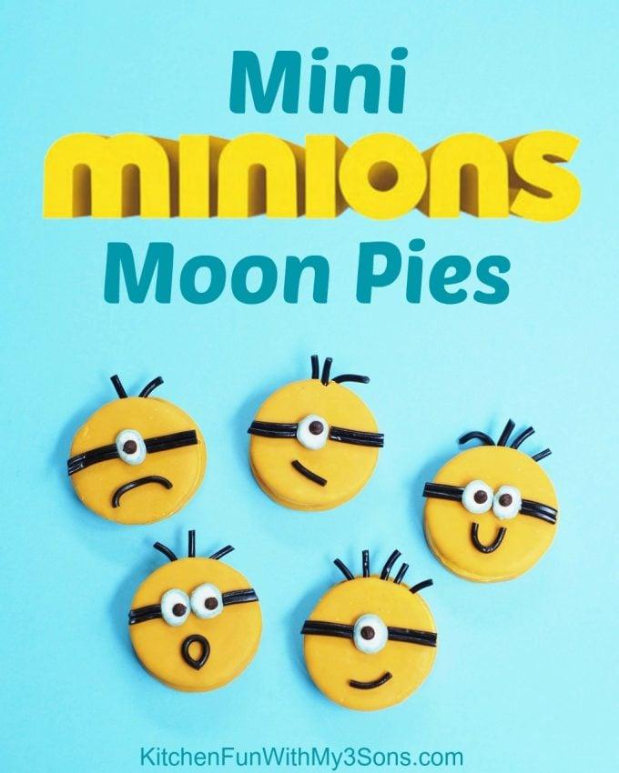 Mini Minion Moon Pies