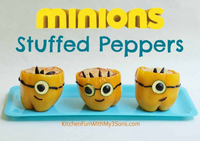 Minion Stuffed Peppers
