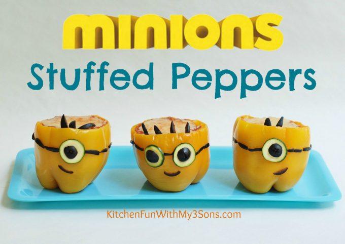 Minion Stuffed Peppers