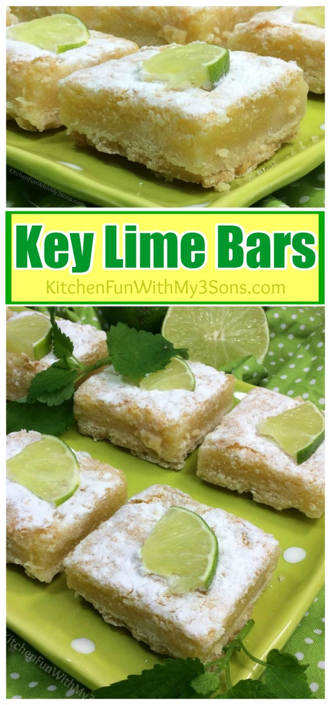 These easy Key Lime Bars are so delicious and the perfect dessert for ...