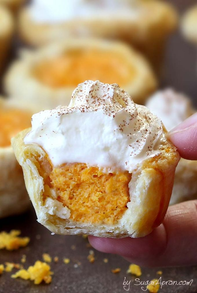 Easy Pumpkin Pie Bites