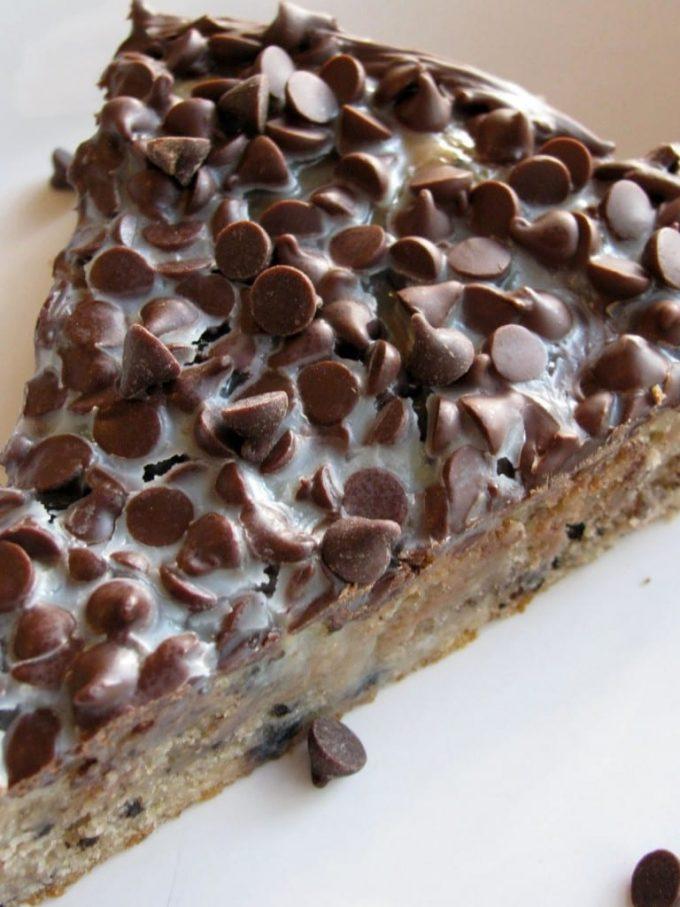 Condensed Milk Brownie Pie