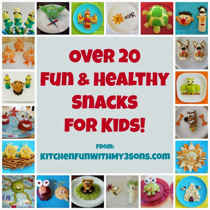 Over 20 Healthy Snacks for Kids!