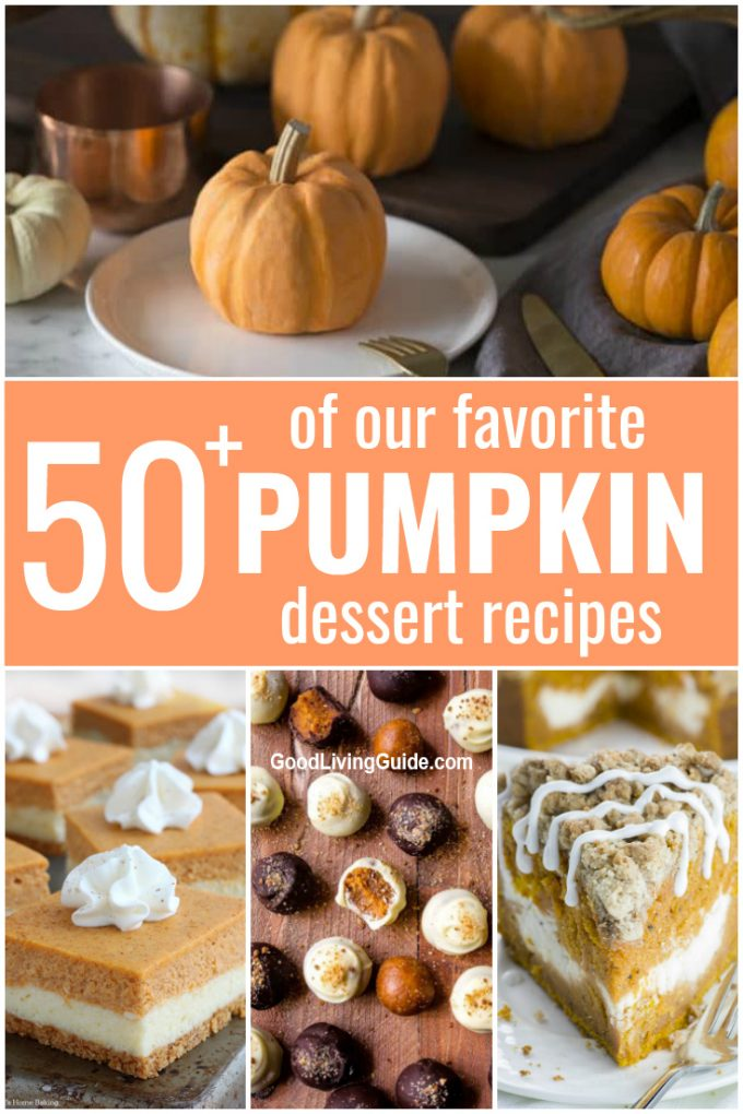 50 Pumpkin Dessert Recipes