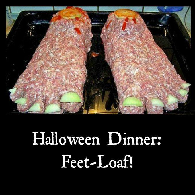 Halloween Feet-Loaf