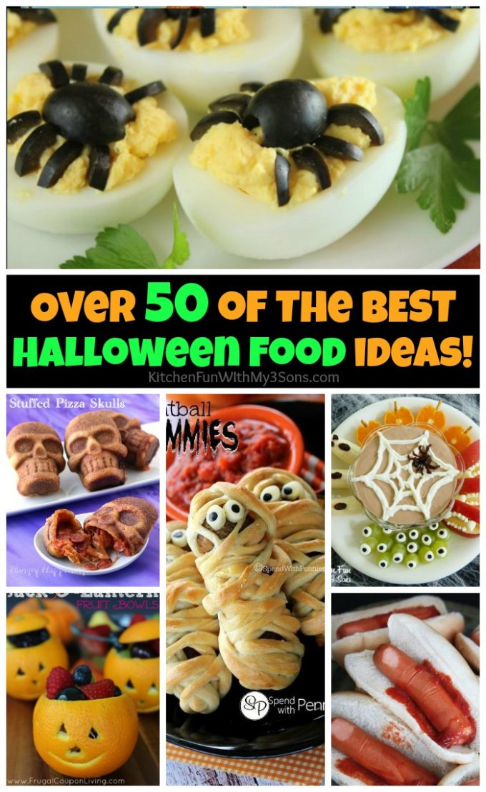 over 50 of the best halloween food ideas