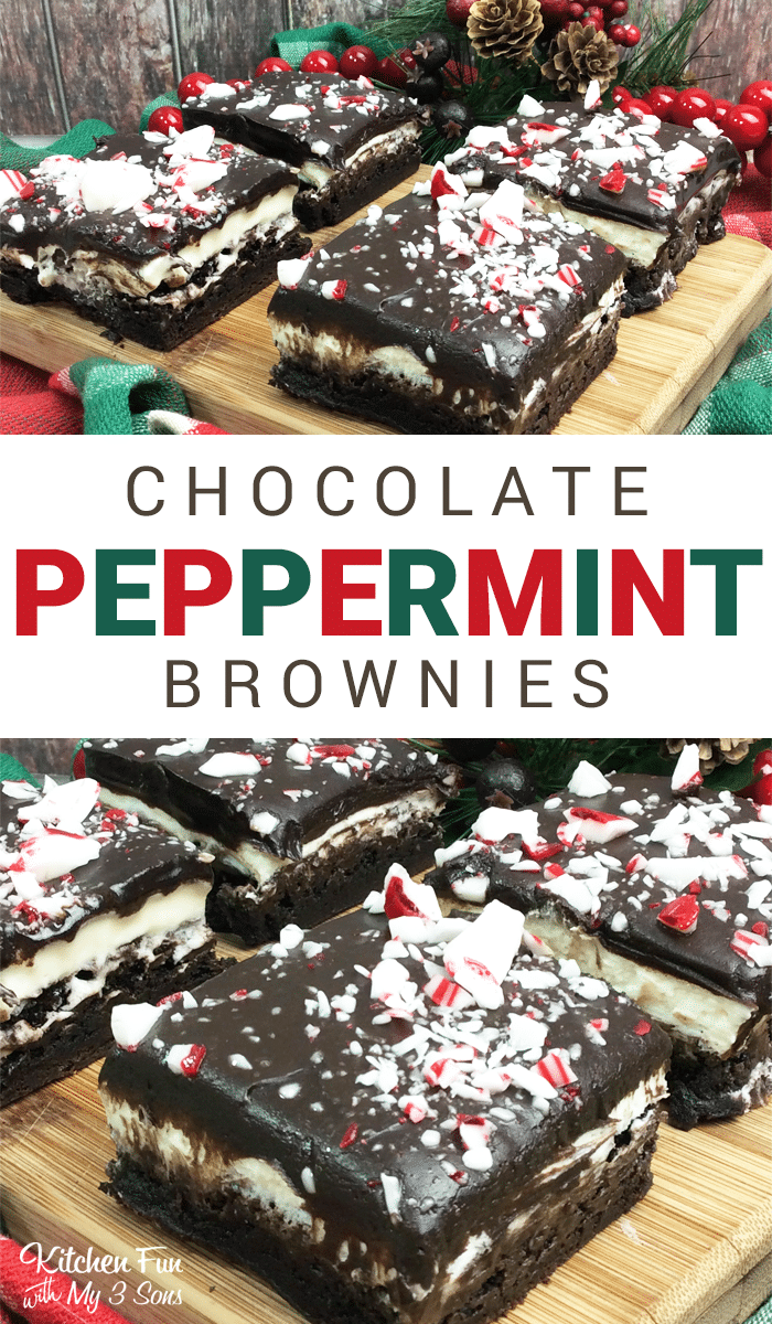 Chocolate Peppermint Brownies