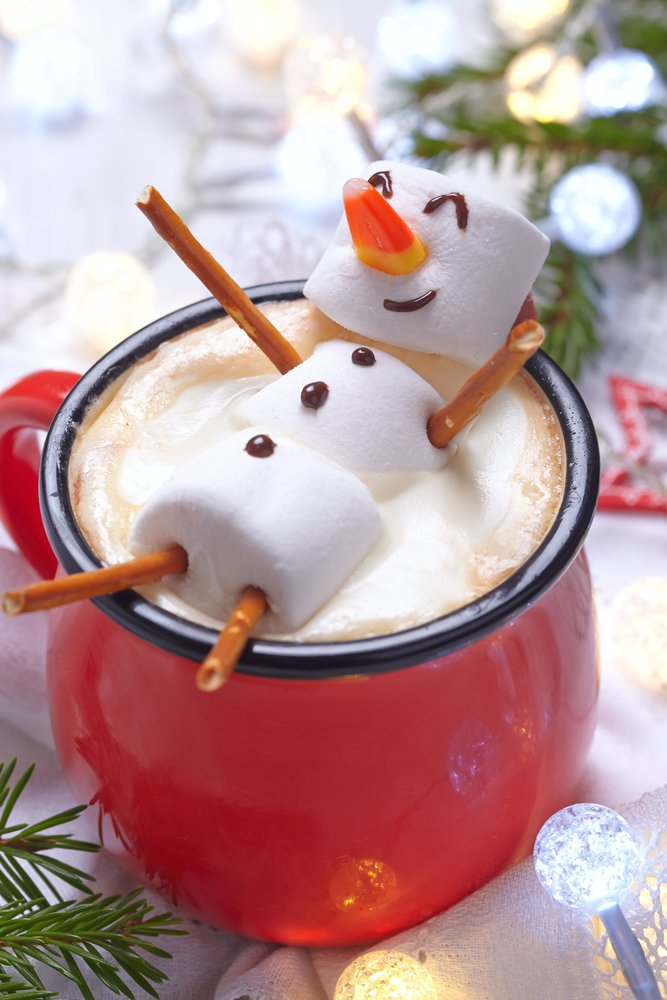 Marshmallow Snowman Hot Chocolate | Beanstalk Single Mums