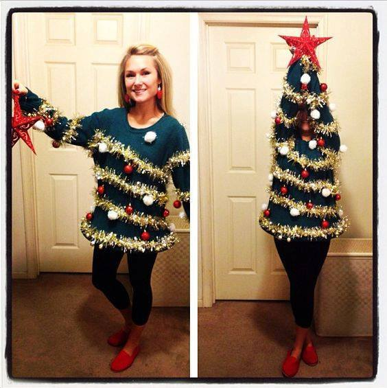 the best ugly christmas sweater party ideas - Ugly Christmas Sweater Party Decorations
