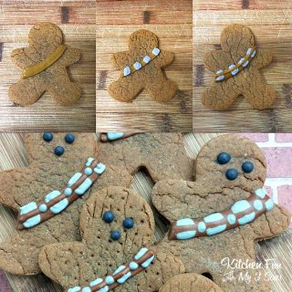 Chewbacca Gingerbread Cookies