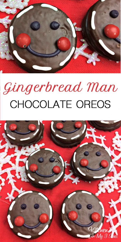 Gingerbread Man Oreos