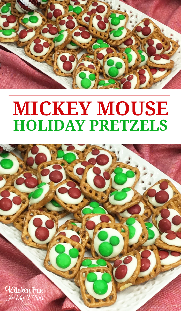 Mickey Mouse Pretzels