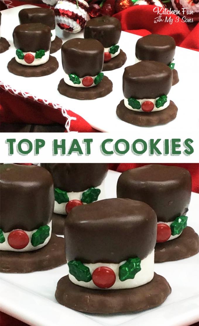 Snowman Hat Cookies