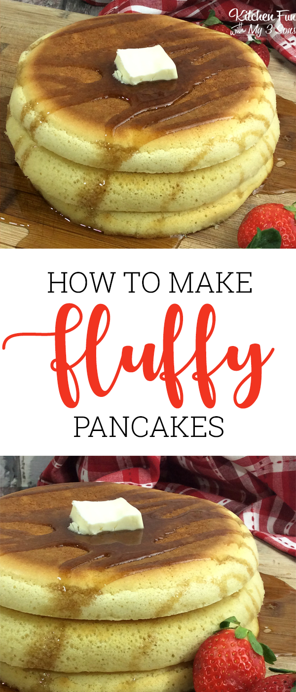Fluffy Puffy Pancakes