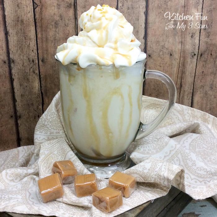 Salted Caramel Bourbon Milkshake