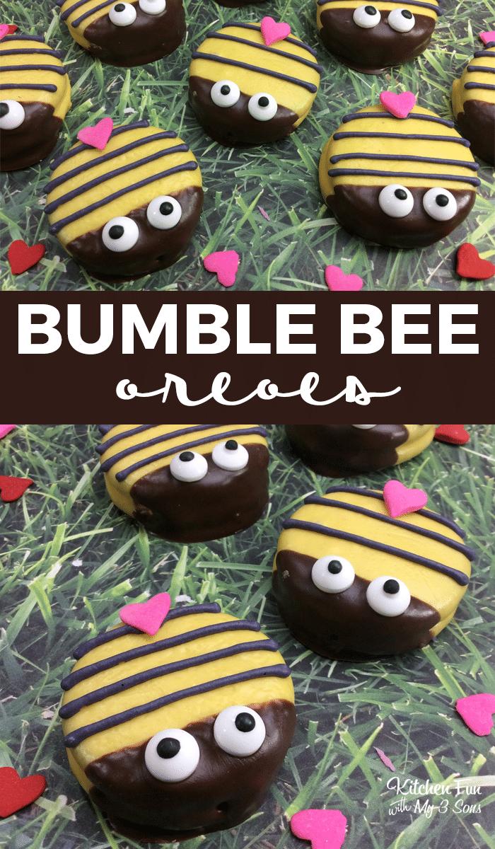 Bumble Bee Oreos