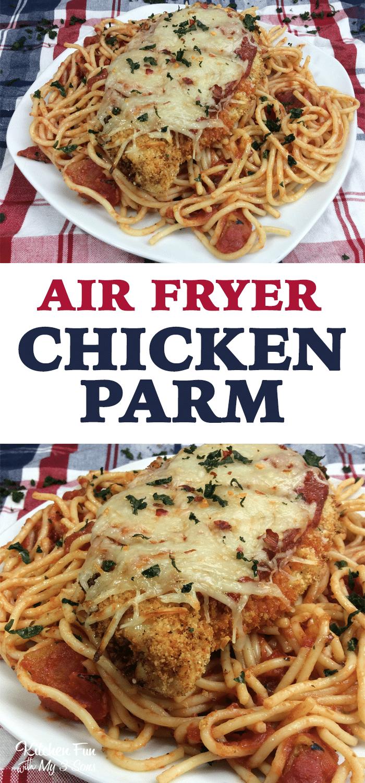 Chicken Parmesan in the Air Fryer