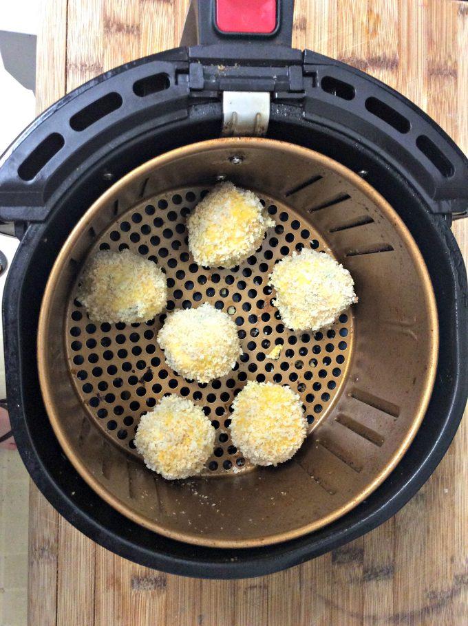 Air Fryer Jalapeno Cheese Balls