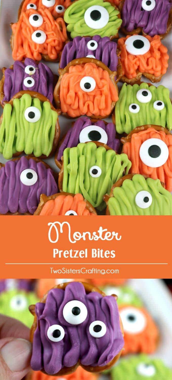 Monster Pretzel Bites