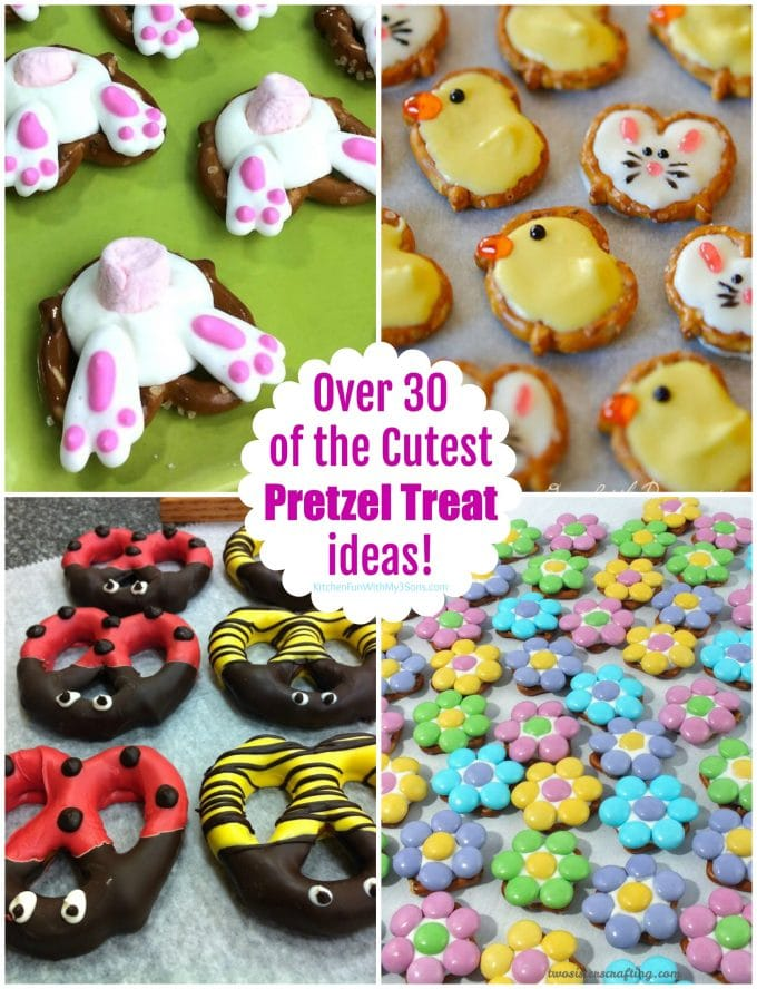 Over 30 of the Cutest Pretzel Treat ideas!