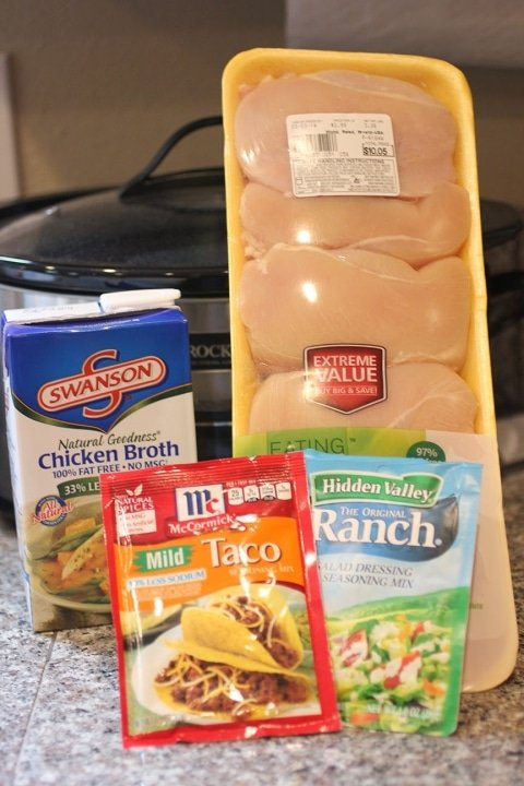 Best Slow Cooker Recipes - Crock-Pot Chicken Tacos