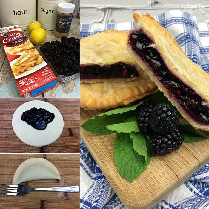 Air Fryer Blackberry Hand Pies