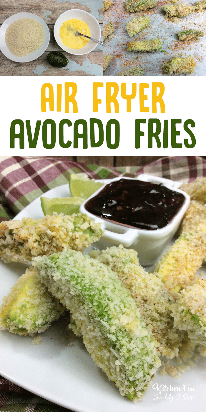 Airfryer Avocado Fries Kitchen Fun With My 3 Sons