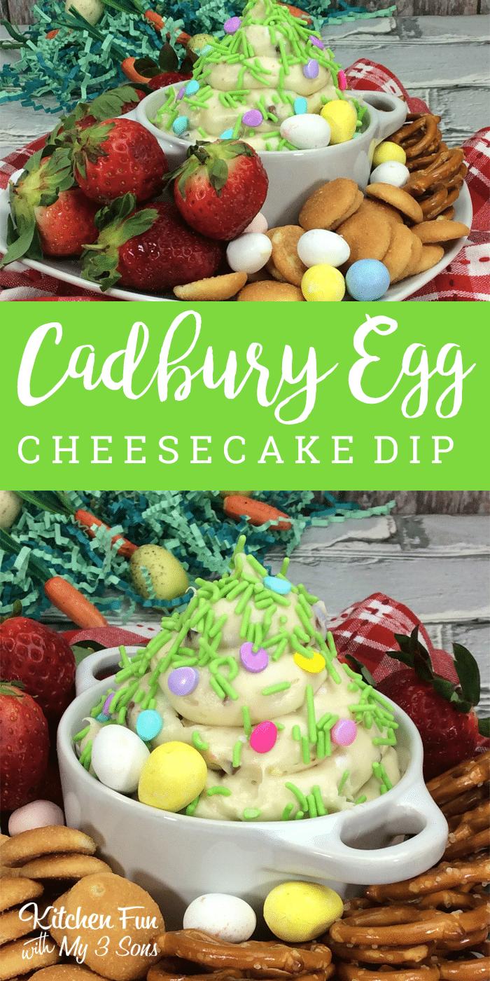 Cadbury Cheesecake Dip