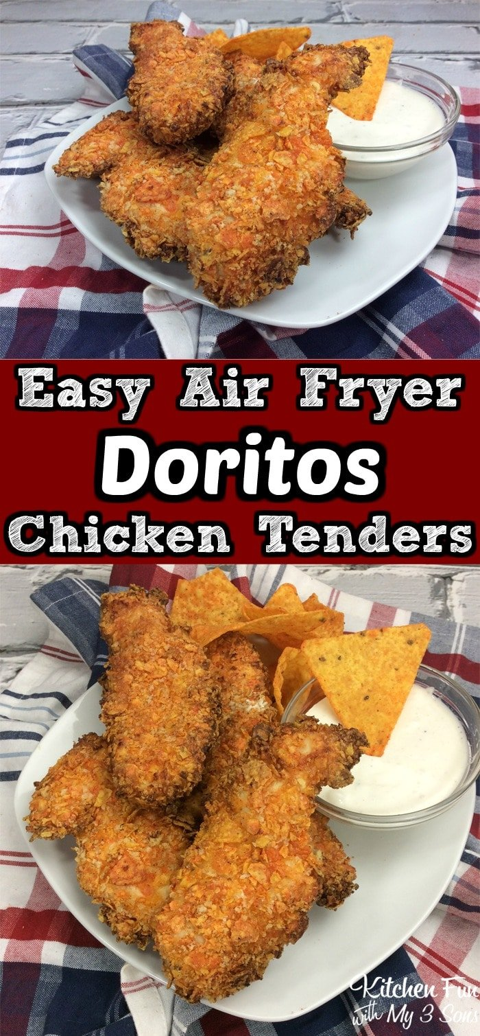 Doritos Air Fryer Chicken Tenders