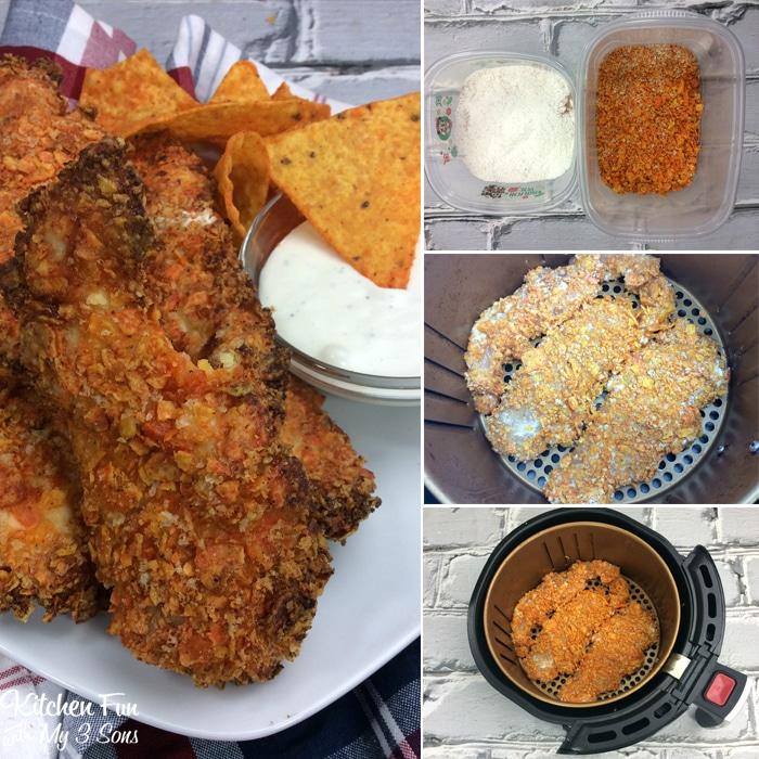 Doritos Air Fryer Chicken Tenders