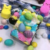 Easter Peep Brownies