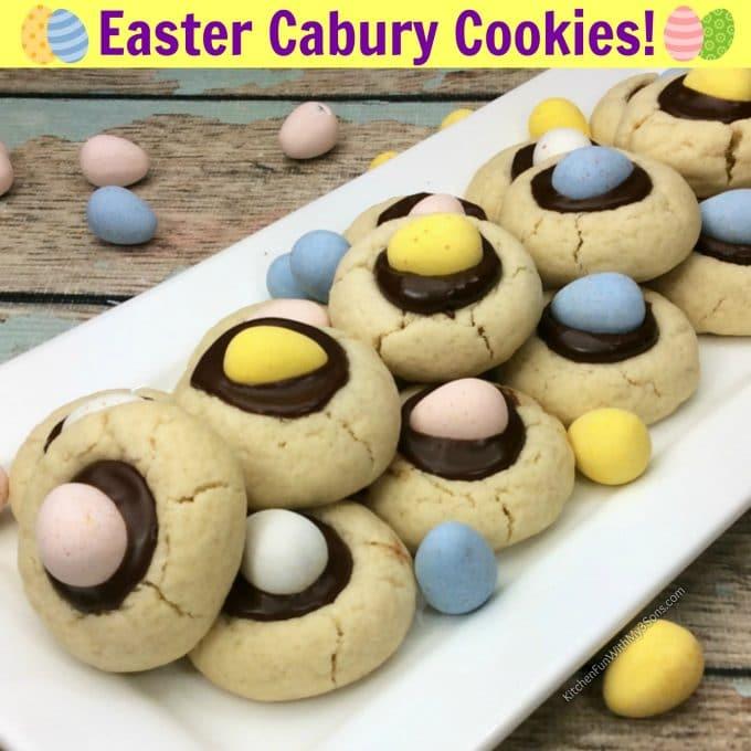 Easter Cadbury Cookies